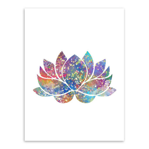 What is the meaning of lotus flower in buddhism a zen hut wisdom in lotus zen watercolor canvas painting for home decor mightylinksfo